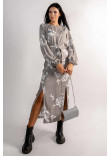 Сукня «Дейлі» кольору попелястого хакі