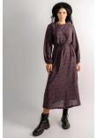 Сукня «Коллор» чорного кольору