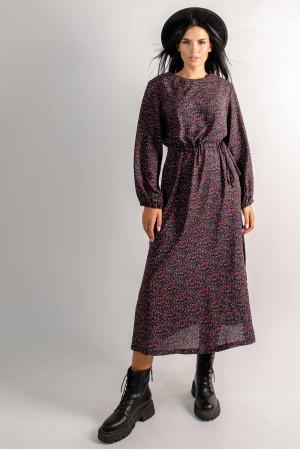 Платье «Коллор» черного цвета