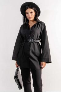 Сорочка «Рейчел» чорного кольору