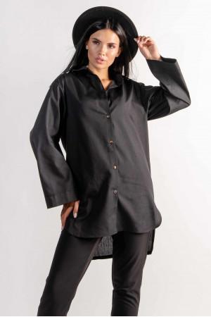 Рубашка «Рейчел» черного цвета