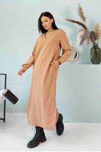 Сукня «Кассі» кольору беж