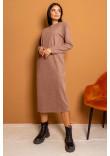 Сукня «Пет» кольору капучино