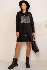 Платье «Форди» черного цвета