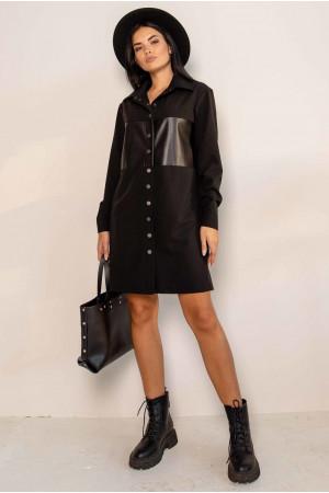Сукня «Форді» чорного кольору
