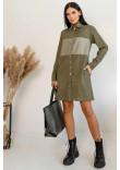 Сукня «Форді» кольору хакі
