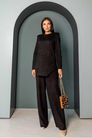 Блуза «Ренейт» чорного кольору
