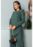 Блуза «Ренейт» смарагдового кольору