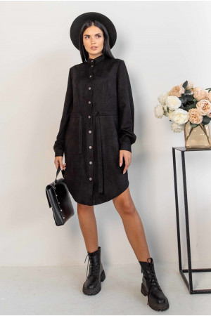 Сукня-кардиган «Ейліс» чорного кольору