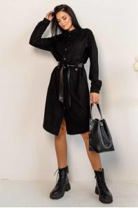 Сукня-кардиган «Бейліс» чорного кольору