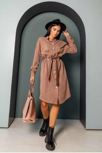 Сукня-кардиган «Бейліс» кольору капучино