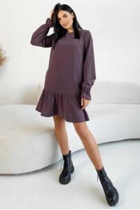 Сукня «Еббі» лавандового кольору