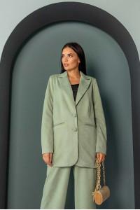 Пиджак «Вики» яблочного цвета