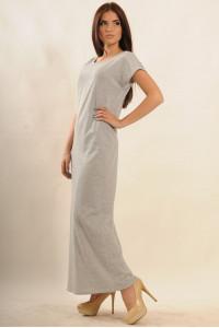 Платье «Круиз» серого цвета