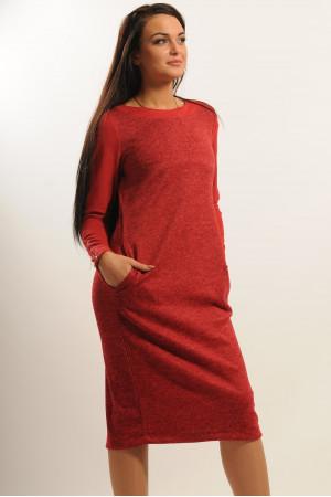 Сукня «Шері» вишневого кольору