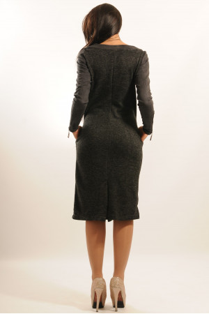 Сукня «Шері» кольору графіт