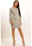 Сукня «Віола» сірого кольору