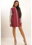 Сукня «Ківі» кольору фуксії