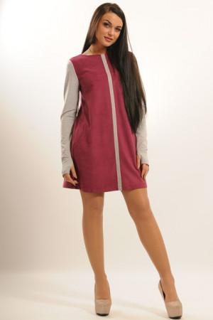 Платье «Киви» цвета фуксии