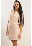Сукня «Маренго» кольору пудри