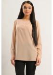 Блузка «Айрін» бежевого кольору