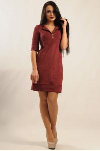Сукня «Маренго» кольору бордо