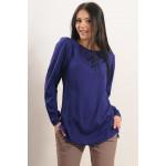 Блузка «Айрін» синього кольору