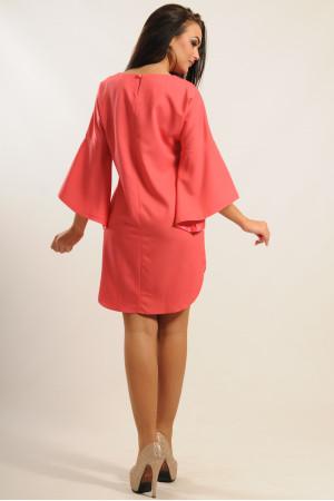 Платье «Индира» кораллового цвета