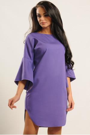 Платье «Индира» фиолетового цвета