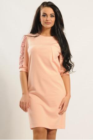 Платье «Хилари» цвета пудры