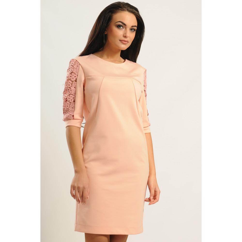 Сукня «Хіларі» кольору пудри – купити у Києві 338167b6e0eda