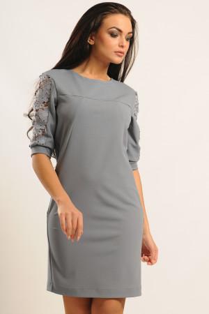 Платье «Хилари» серого цвета