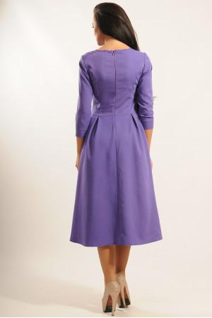 Платье «Джулия» фиолетового цвета
