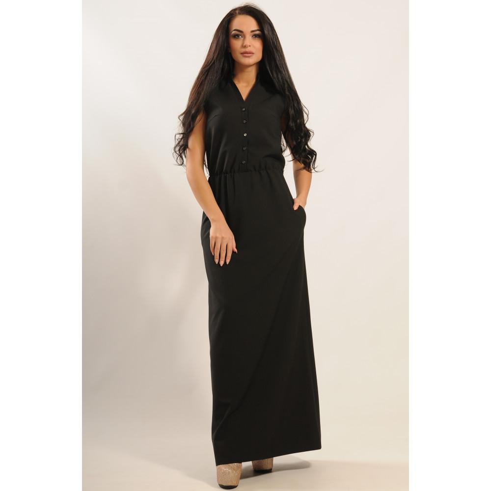 Сукня «Ваніль» чорного кольору – купити у Києві c3e3612e9f2f9
