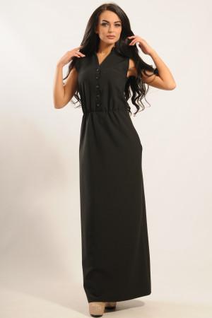 Сукня «Ваніль» чорного кольору