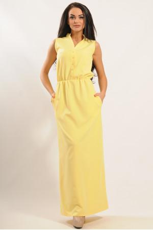 Сукня «Ваніль» жовтого кольору