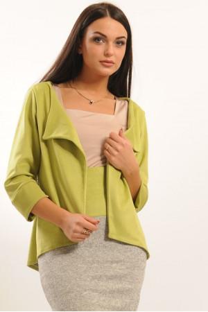 Пиджак «Лола» салатового цвета