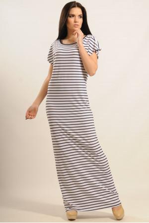 Платье «Круиз» белого цвета