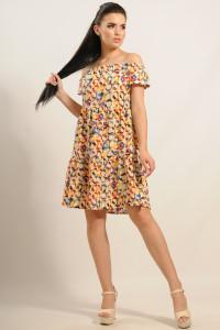 Платье «Нелли» желтое