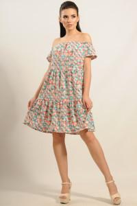 Платье «Нелли» голубое
