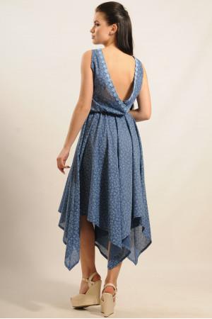 Сукня «Тіара-Міді» синя
