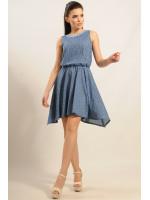 Платье «Тиара» синее