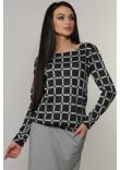 Блуза «Сіті-Зима» графітового кольору