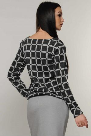 Блуза «Сити-Зима» графитового цвета