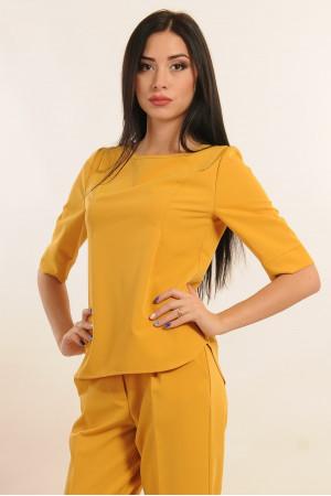 Блуза «Гірчиця» жовтого кольору