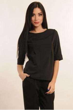 Блуза «Гірчиця» чорного кольору