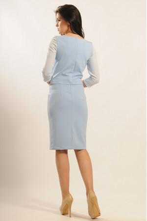 Спідниця «Вів'єн» блакитного кольору