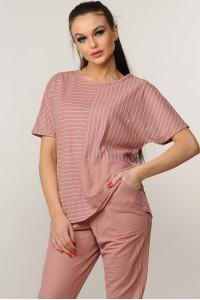 Блуза «Хейди» розового цвета