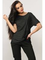 Блуза «Хейди» черного цвета