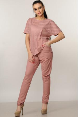Брюки «Хейди» розового цвета